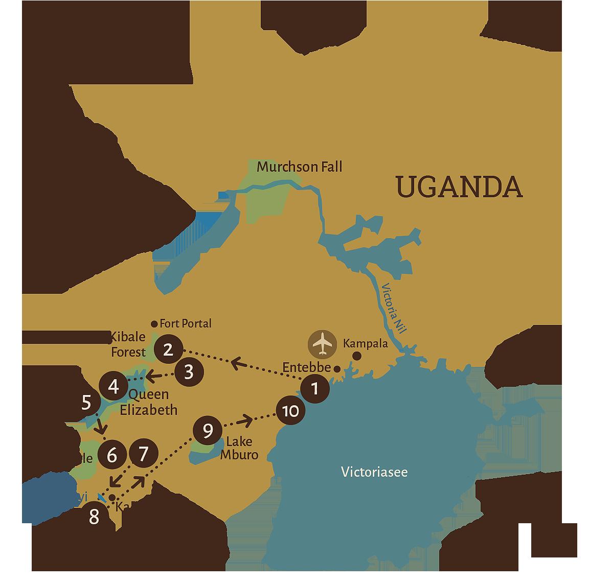 Karte-10-TAGE-Wildlife-und-Gorillas